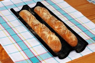 Homemade baguettes © Arena Photo UK