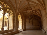 Jeronimos Monastery Cloister arcade corner - 73324955