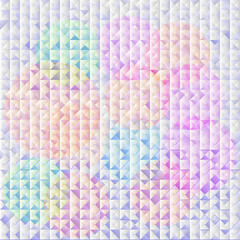 Colorful seamless triangle abstract pattern Vector