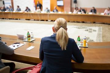 participant at seminar