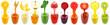 canvas print picture - kiwi juice
