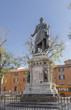 monument to the hero of the Risorgimento Manfredo Fanti