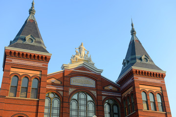Arts and Industries Building Smithsonian museum, Washington DC