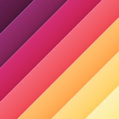 Trendy colors gradient background. Vector element