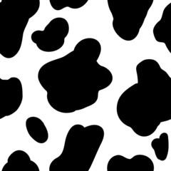 Cow pattern background. Vector design element