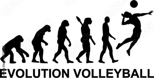 Volleyball Evolution - 73331188