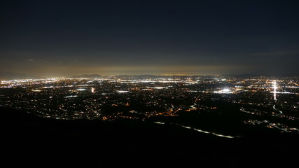 Los Angeles Night Time Lapse