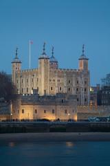 Tower of London at Night, england, uk