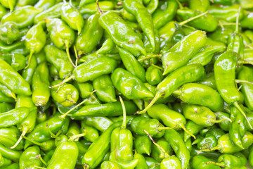 gros piments verts