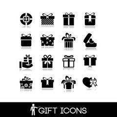 Gift icon set1