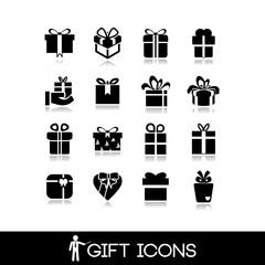 Gift icon set7