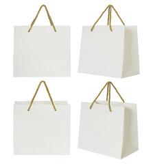 Paper shopping bag set