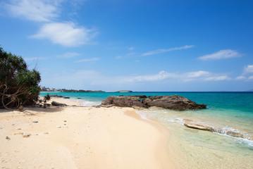 沖縄のビーチ・ダイヤモンドビーチ