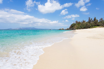 沖縄のビーチ・ミッションビーチ