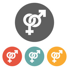 male and female sign icon