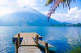 Shore at Lake Atitlan in Guatemala