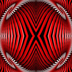 Design colorful illusion background