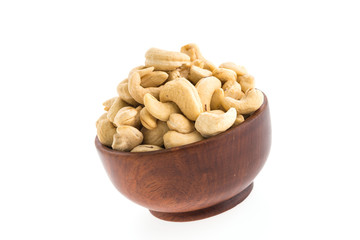 cashew bowl isolated