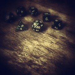 Dices used for role playing games