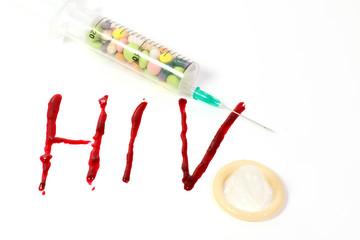 HIV Aids als Freisteller