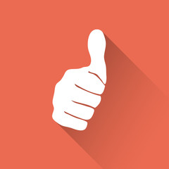 Vector sign thumb up