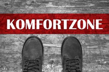 Komfortzone Linie