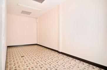 empty simple long office room