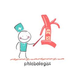 phlebologist