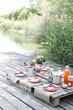 gesundes picknick - 73347525