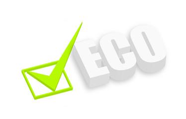 Eco 3d Text