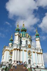 Famous Saint Andrew's church