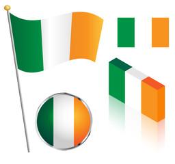 Irish Flag Set