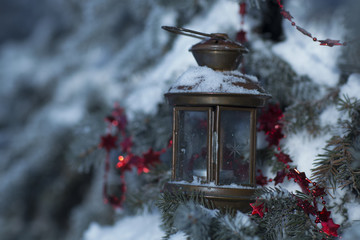 Christmas small lamp
