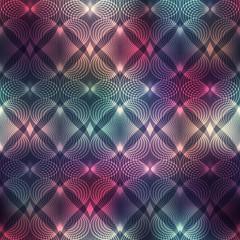 Geometric heatrs on blur background.