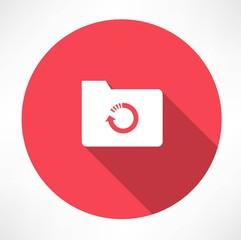 cycle folder icon