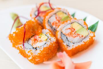 California roll sushi maki