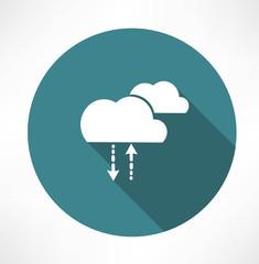 cycle of precipitation icon