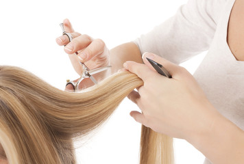 haircut - Stock Image