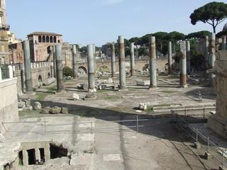 Vecchie rovine a Roma