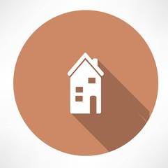 two-storey house icon