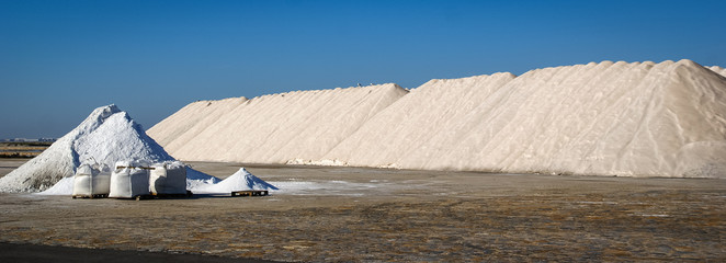 Mountains of salt, San Pedro del Pinatar, Valencia y Murcia, Spa
