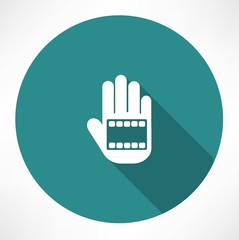 film in hand icon