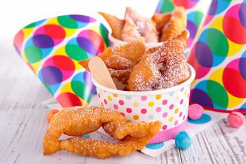 traditional carnival cake