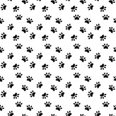 Black paws pattern
