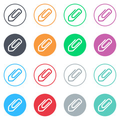 Vector flat iButtons