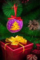 Christmas ball from felt