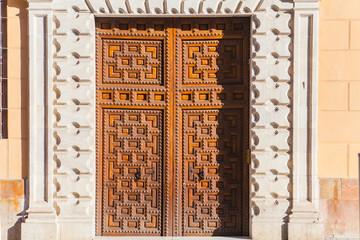 Renaissance front door.