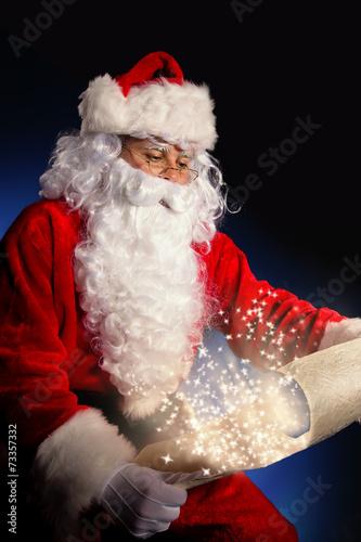 canvas print picture Santa Claus portrait