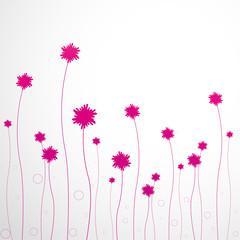 fond abstrait-fleur