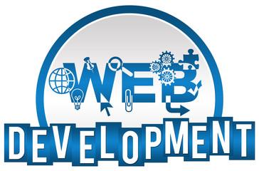 Web Development Circle Stripes